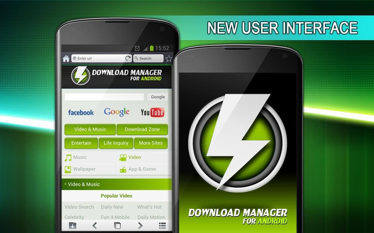 Phần mềm download Download Manager for Android
