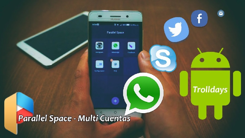 đăng nhập nhiều tài khoản cùng lúc trên Android