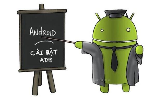 Chương trình ADB cho phép thiết bị Android tương tác với máy tính