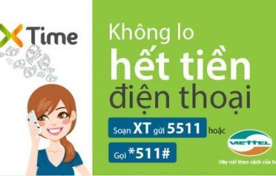 Tính năng ứng tiền mới Xtime của Viettel