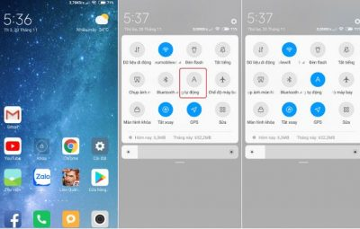 Tắt tính năng tự động điều chỉnh độ sáng màn hình Auto Brightness trên Android