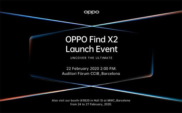 Cấu hình OPPO Find X2 rò rỉ