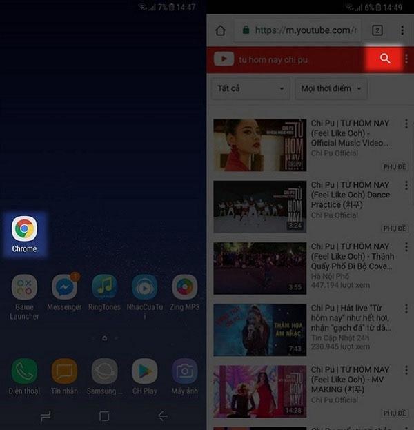Cách xem Youtube khi tắt màn hình trên Android