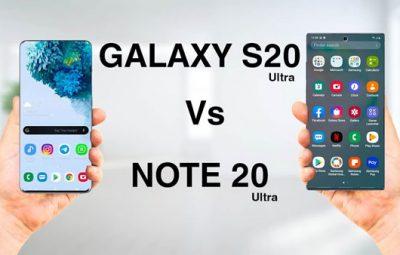 So sánh Samsung Galaxy Note 20 Ultra và S20 Ultra