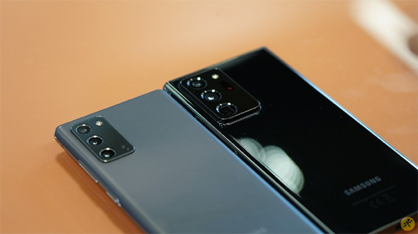 Note 20 và Note 20 Ultra sử dụng con chip Exynos 990 hoặc Snapdragon 865+