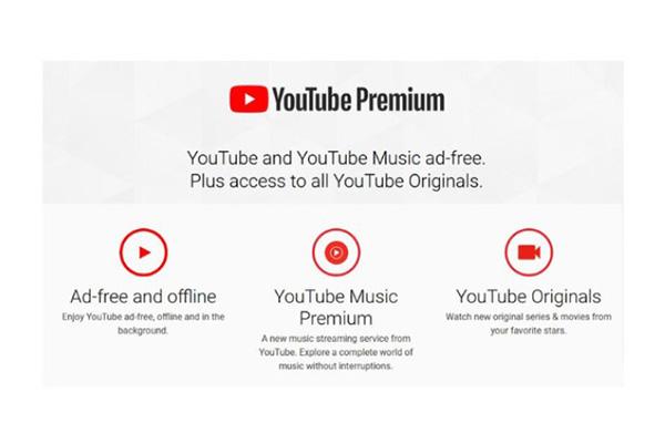 Đăng ký YouTube Premium để tải video về điện thoại