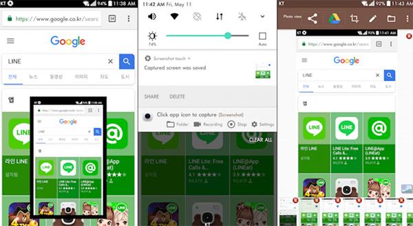 Ứng dụng chụp màn hình iPhone Screenshot Touch