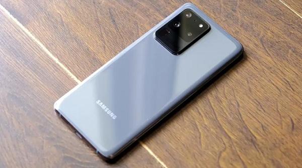 Samsung Galaxy S21 Ultra màu bạc
