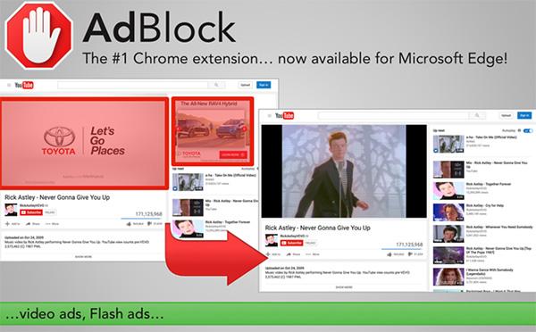 Tiện ích mở rộng chặn quảng cáo trên Chrome - ADBlock