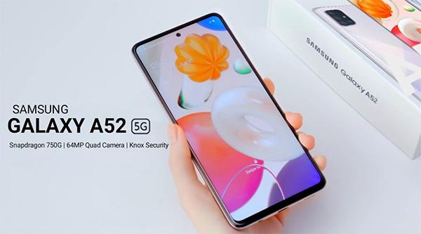 So sánh chi tiết màn hìnhGalaxy A52 và Galaxy A51