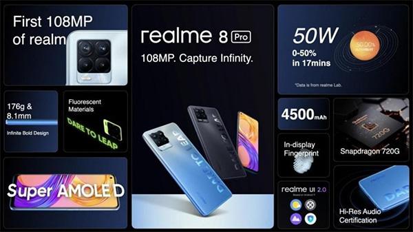 Một số hình ảnh rò rỉ về thông số kỹ thuật Realme 8