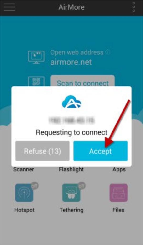 Chuyển dữ liệu từ Samsung sang máy tính bằng Sử dụng phần mềm AirMore (1)