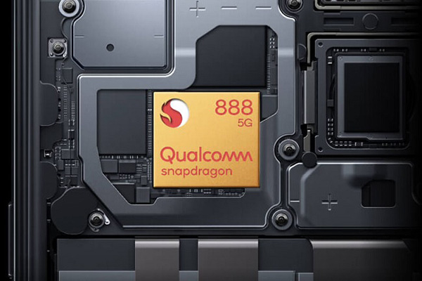 Con chip Snapdragon 888 mạnh mẽ