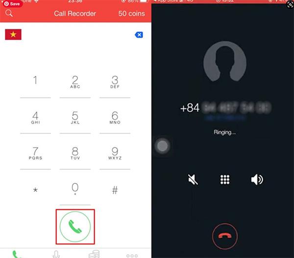 Cách ghi âm cuộc gọi trên iPhone bằng Call Recorder (1)