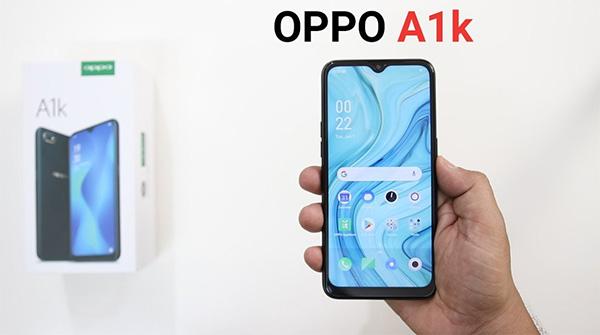 """OPPO A1K với thiết kế màn hình """"giọt nước"""" tinh tế"""