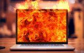 Không thường xuyên vệ sinh máy tính, bụi bẩn là một trong những nguyên nhân khiến máy tính bị nóng