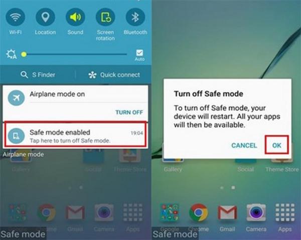 Cách bật chế độ an toàn trên Android (1)